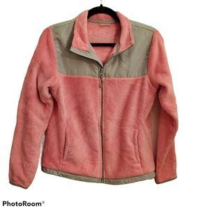 DANSKIN NOW Girls 4-6 Fleece Zip-up jacket